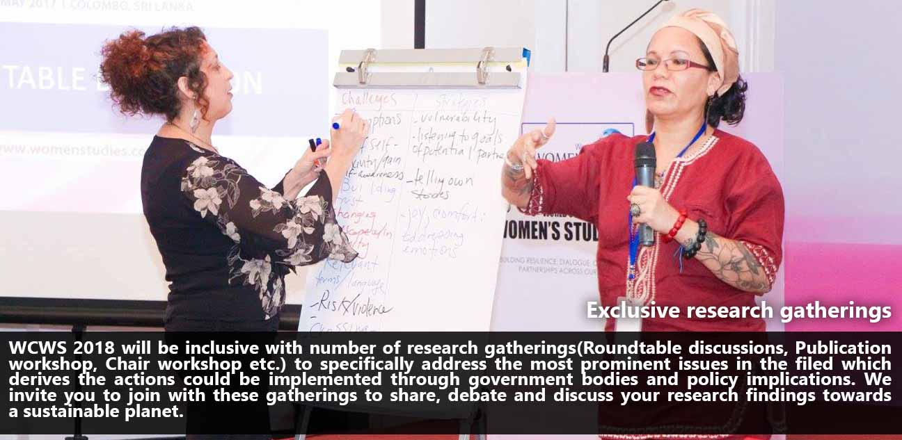 Exclusive research gatherings