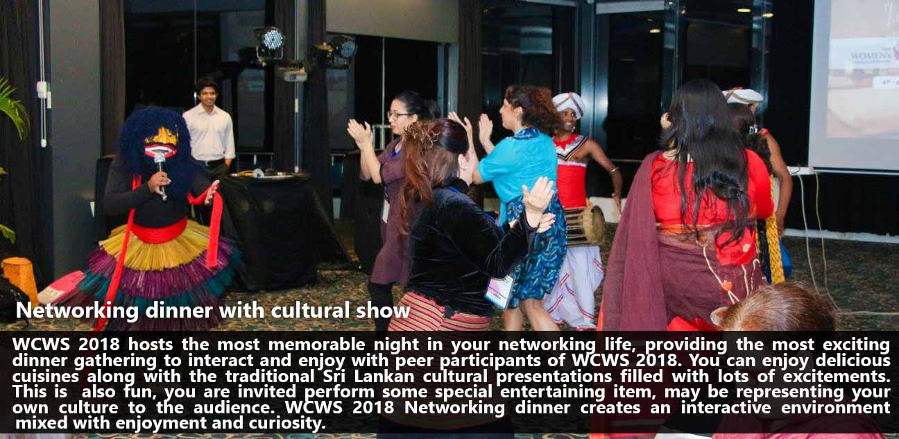 WCWS_Networking dinner with cultural show