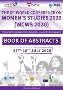 book of abstracts wcws 2020